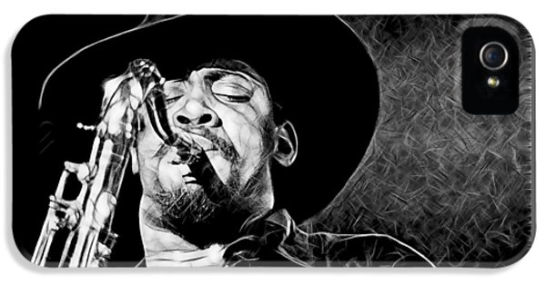 Clarence Clemons Collection IPhone 5s Case by Marvin Blaine