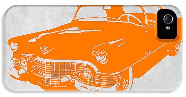Landmarks iPhone 5s Case - Classic Chevy by Naxart Studio