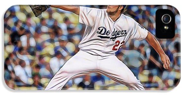 Clayton Kershaw Baseball IPhone 5s Case