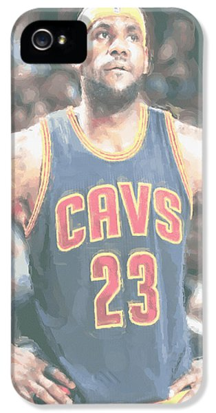 Cleveland Cavaliers Lebron James 5 IPhone 5s Case
