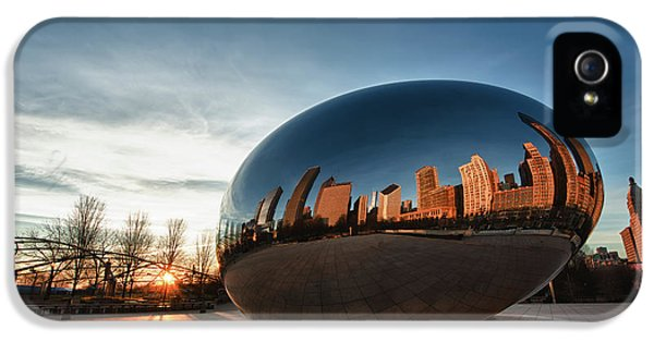 Cloud Gate At Sunrise IPhone 5s Case