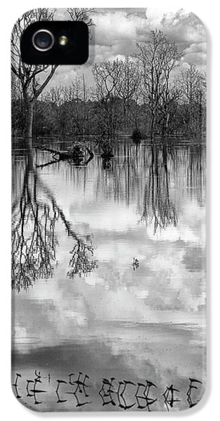 Cloudy Reflection IPhone 5s Case by Hitendra SINKAR