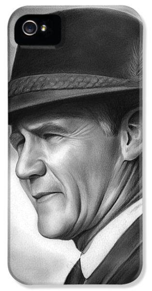 Coach Tom Landry IPhone 5s Case by Greg Joens