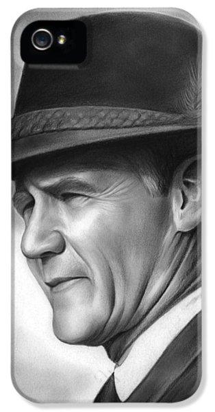 Coach Tom Landry IPhone 5s Case by Greg Joens