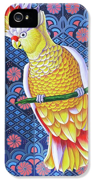 Cockatoo iPhone 5s Case - Cockatoo by Jane Tattersfield
