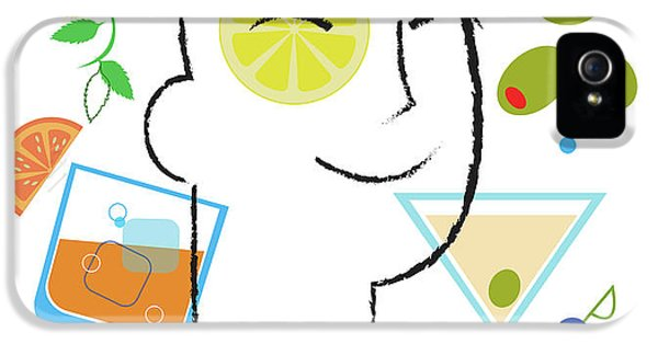 Cocktail Time IPhone 5s Case by Lisa Henderling