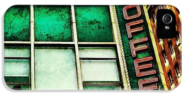 Colorful iPhone 5s Case - Coffee Shop Bar by Luke Kingma