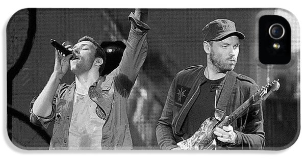 Coldplay 14 IPhone 5s Case by Rafa Rivas
