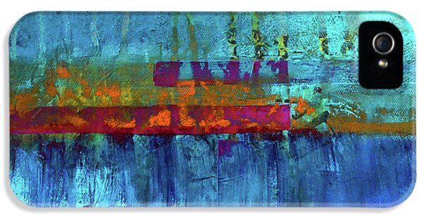 Color Pond IPhone 5s Case by Nancy Merkle