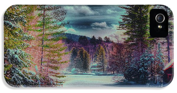 IPhone 5s Case featuring the photograph Colorful Winter Wonderland by David Patterson
