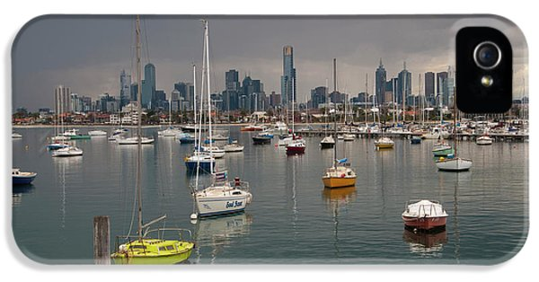 Colour Of Melbourne 2 IPhone 5s Case by Werner Padarin