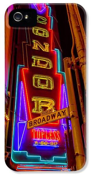 Condor Neon On Broadway IPhone 5s Case