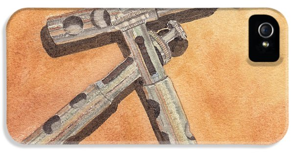 Corroded Trumpet Pistons IPhone 5s Case by Ken Powers
