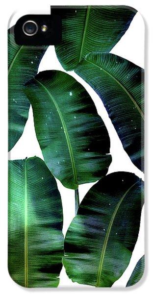 Cosmic Banana Leaves IPhone 5s Case by Uma Gokhale