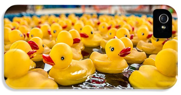 Duck iPhone 5s Case - County Fair Rubber Duckies by Todd Klassy