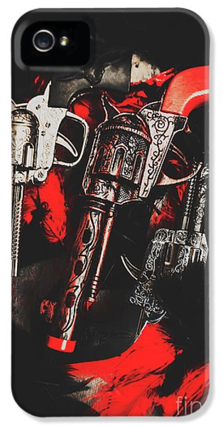 Armed iPhone 5s Case - County Slingers  by Jorgo Photography - Wall Art Gallery