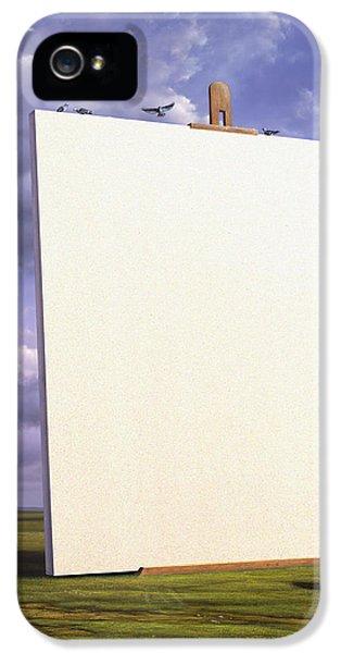 Pigeon iPhone 5s Case - Creative Problems by Jerry LoFaro