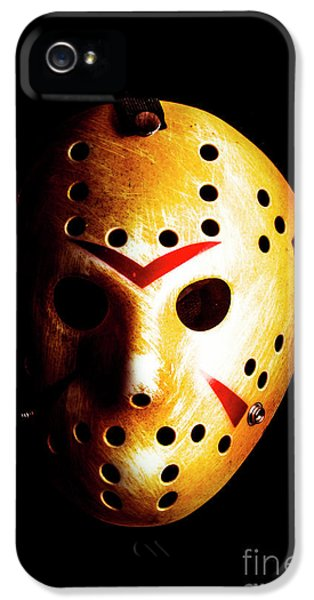 Hockey iPhone 5s Case - Creepy Keeper by Jorgo Photography - Wall Art Gallery