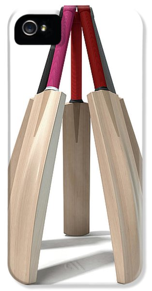 Cricket Bat Circle IPhone 5s Case