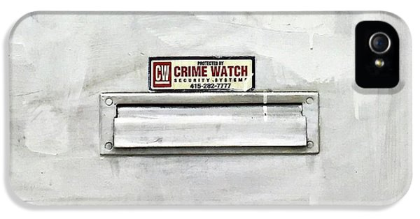 iPhone 5s Case - Crime Watch Mailslot by Julie Gebhardt