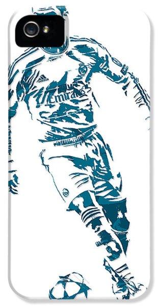 Cristiano Ronaldo Real Madrid Pixel Art 1 IPhone 5s Case