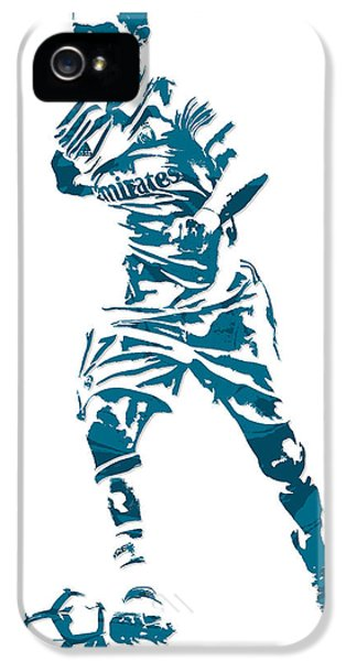 Cristiano Ronaldo Real Madrid Pixel Art 3 IPhone 5s Case