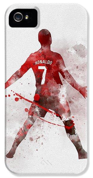 Cristiano Ronaldo United IPhone 5s Case