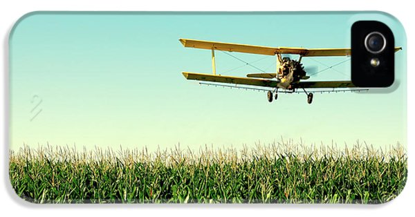 Airplane iPhone 5s Case - Crops Dusted by Todd Klassy