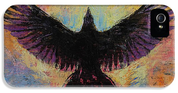 Crow IPhone 5s Case by Michael Creese