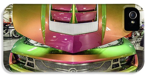IPhone 5s Case featuring the photograph Custom Camaro by Randy Scherkenbach
