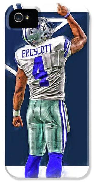 Dak Prescott Dallas Cowboys Oil Art Series 2 IPhone 5s Case