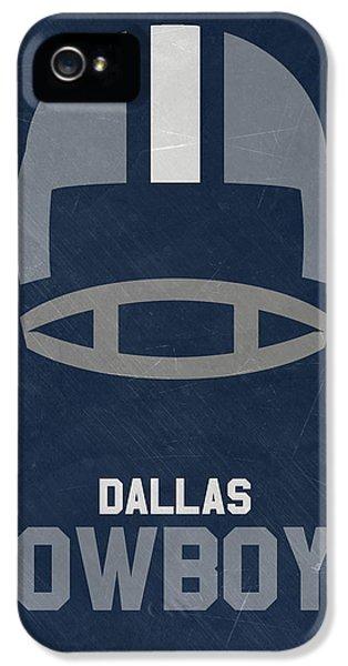 Dallas Cowboys Vintage Art IPhone 5s Case by Joe Hamilton