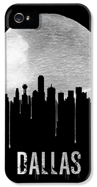 Dallas Skyline Black IPhone 5s Case
