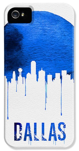 Dallas Skyline Blue IPhone 5s Case