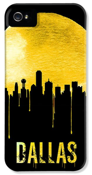 Dallas Skyline Yellow IPhone 5s Case