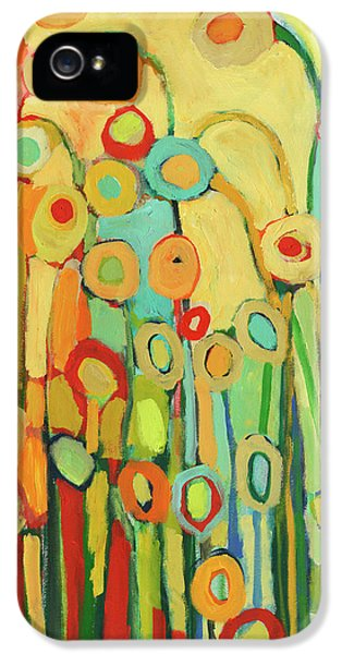 Floral iPhone 5s Case - Dance Of The Flower Pods by Jennifer Lommers