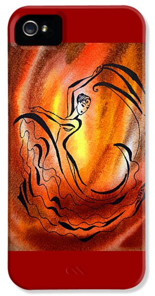 Dancing Fire I IPhone 5s Case