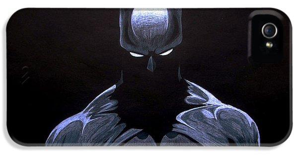 Ben Affleck iPhone 5s Case - Dark Knight by Marcus Quinn