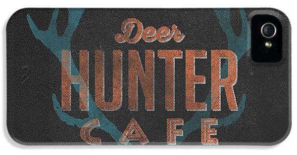 Deer Hunter Cafe IPhone 5s Case by Edward Fielding