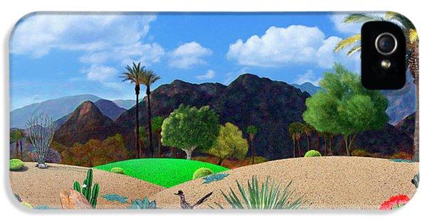 Desert iPhone 5s Case - Desert Splendor by Snake Jagger