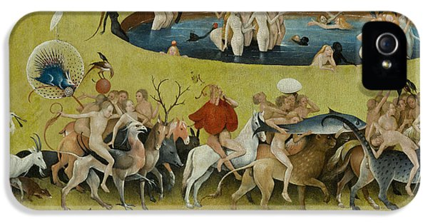 Detail From The Central Panel Of The Garden Of Earthly Delights IPhone 5s Case by Hieronymus Bosch