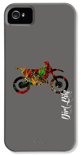 Dirt Bike Collection IPhone 5s Case by Marvin Blaine