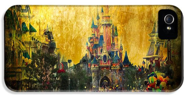 Disney World IPhone 5s Case