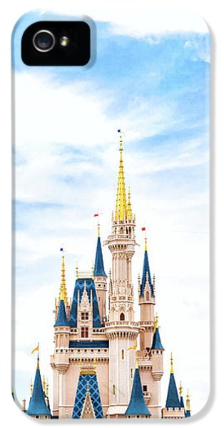 Castle iPhone 5s Case - Disneyland by Happy Home Artistry