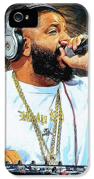 Rihanna iPhone 5s Case - Dj Khaled by Semih Yurdabak