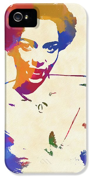 Dorothy Dandridge Watercolor IPhone 5s Case