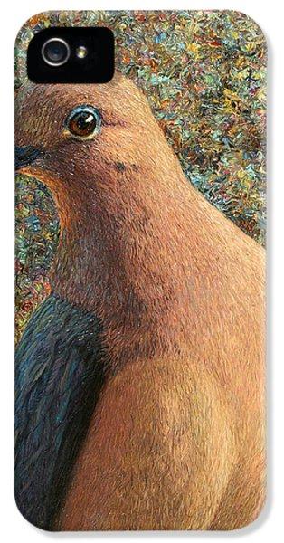 Dove iPhone 5s Case - Dove by James W Johnson