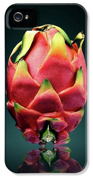 Dragon iPhone 5s Case - Dragon Fruit Or Pitaya  by Johan Swanepoel
