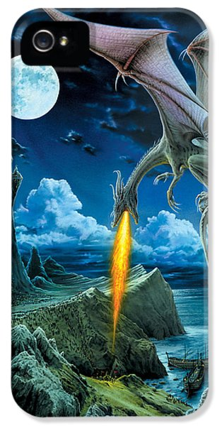 Dragon Spit IPhone 5s Case by The Dragon Chronicles - Robin Ko