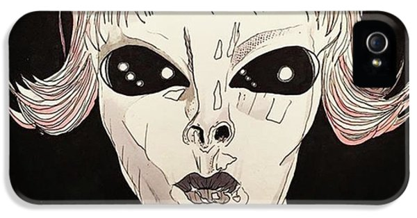 She Came From Planet Claire IPhone 5s Case